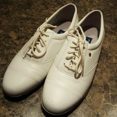 Shoes White tie leather Easy Spirit Shoes Flats & Loafers