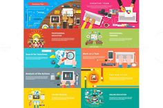 Creative team. Young design team. Business Infographic. $15.00