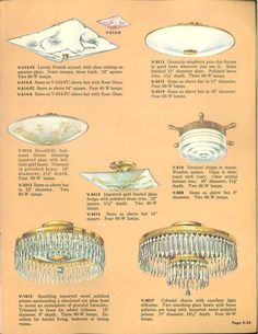 Vintage Virden lighting - 52 page catalog from 1959 - Retro Renovation Ceiling Fixtures, Ceiling Lights, 1950s Furniture, Catalog Cover, Retro Renovation, Types Of Lighting, Vintage Lighting, Polished Brass, House Plants