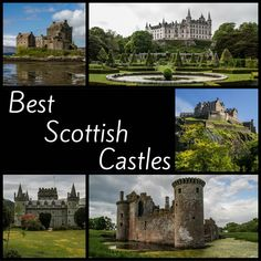 Discover, with photos, the best Scottish Castles - best ruins, most enchanting, most spectacular, in best scenery, strangest... and most disappointing