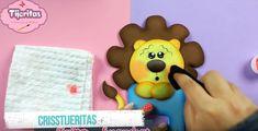Cubre interruptor de goma eva con forma de león - Manualidades en Goma Eva y Foami Ice Tray, Toddler Arts And Crafts, Cover, Jelly Beans, Blue Prints, Hipster Stuff