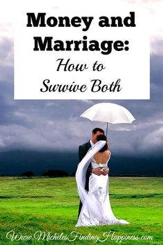 Money and marriage are hard! So hard I had a heck of a time writing this post. Information overload, icky feelings and trying to wade through all of it.