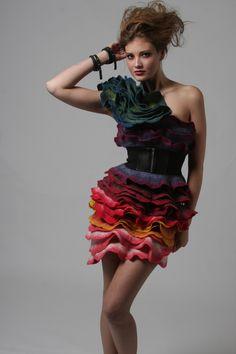 Rose Dress (Improv) - by Jenne Giles