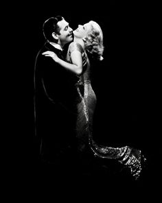 Clark Gable and Jean Harlow in Saratoga .....Uploaded By www.1stand2ndtimearound.etsy.com