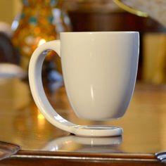 Coffee Mug Display, Coffee Mug Holder, Coffee Cups, Coffee Latte, Floating Mug, Comida De Halloween Ideas, Tassen Design, Cute Cups, Cool Mugs