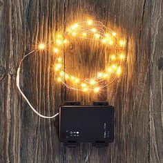 White Led Lights, String Lights, Copper Lighting, Outdoor Lighting, Starry Lights, Seasonal Decor, Indoor Outdoor, Light Bulb, Glow