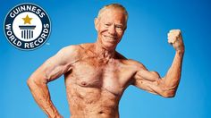 Think bodybuilding is a young man's game? Not if Jim Arrington has anything to say about it! This man has a world record as the oldest competing professional bodybuilder and shows no signs of stopping. Old Bodybuilder, Resistance Workout, Stay Young, Nice Body, Looking Back, Bodybuilding, Fitness Motivation, Exercise, Youtube