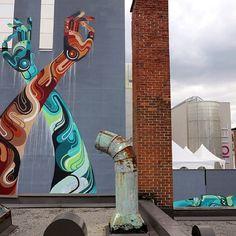 James Reka Montreal street art graffiti