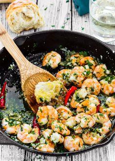 Spanish Style Garlic Shrimp-14