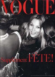 Kate Moss cover | Vogue Paris