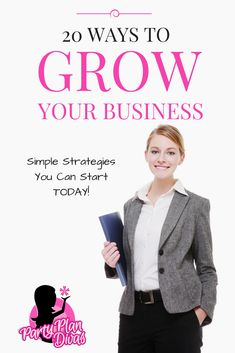 Check out 20 ways to grow your business! Business Opportunities, Business Tips, Online Business, Strategy Business, Direct Sales Companies, Arbonne Business, Black Skin Care, Sales Tips, Anti Aging Facial