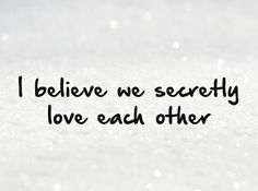 Secret Love Quotes & Sayings