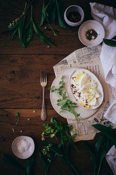 Ophelie's kitchen book: MOZZARELLA ASSAISONNEE AU PIMENT