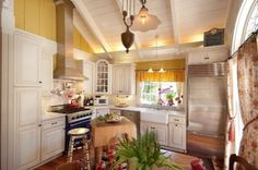 Nice Bring In Nature Country Kitchen Design Country Kitchen 2013 Style