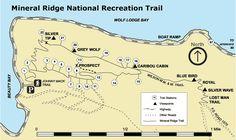 Mineral Ridge Scenic Area and National Recreation Trail, Coeur d'Alene, Idaho