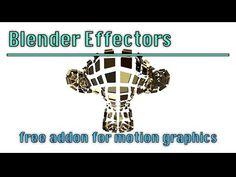 Blender Effectors Addon