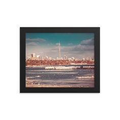 Framed poster of Toronto Downtown view - CN tower - Canada - Toronto photographer - Framed Photo Print - Home Decor - Wall Art Toronto Photographers, Home Decor Wall Art, Cn Tower, Framed Art Prints, Canada, Nature, Poster, Photography, Beauty
