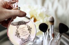 These DIY apothecary bottles are absolutely stunning and make remarkable bridesmaid gifts when filled with homemade perfume, body oil, or bubble bath.