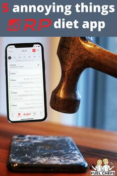 5 annoying things with the RP diet app and how to hack them - Fuel Chefs Diet Apps, Always Hungry, Annoyed, Bedtime, Healthy Lifestyle, Strength, Fat, Training, Hacks