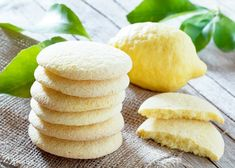 Homemade Bakery Products Stack Shortbread Cookies Stock Photo (Edit Now) 383324455 Coco Cookies, Cookies Et Biscuits, Lemon Shortbread Cookies, Lemon Sugar Cookies, Cookie Recipes, Snack Recipes, Snacks, Vegetarian Recipes, Coconut Recipes