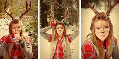 image by www.fawnandfeather.com  #costume #dress up  #woodland creature #deer #halloween #fawn #antlers #deer makeup # deer costume