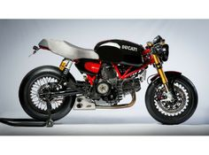 Ducati SportClassic GT 1000 with QD Ex-Box exhaust.