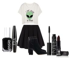 """I'am happy"" by noynoy2500 ❤ liked on Polyvore featuring beauty, Polo Ralph Lauren, Topshop, Manic Panic NYC, NARS Cosmetics, Essie and NYX"
