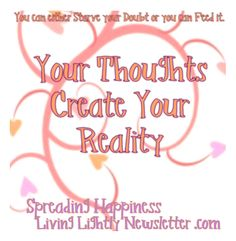 #PositiveChange Think Happy Thoughts!  ☀️ Join our Newsletter! http://jmcveyc.ht/Lighten-Up