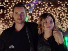 Detectives Halstead and Lindsay   Finally   #ChicagoPD