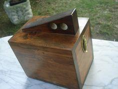 Antique Shoe Shine Box Shoe Shine Kit Wooden Carrying Shoe Shine Box Wood Box