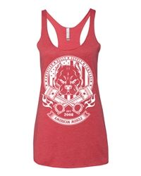 Big Block Collection from American Bully Supply Company now available in a womens racerback tank top. So comfortable, you'll want to wear it all the time! For Pit Bull and American Bully Lovers https://www.bullysupplies.com