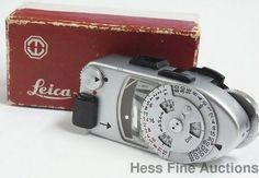 Vintage Leica Nurnburg Germany Metrawatt Light Meter in box NR #Leica