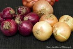 Reasons to eat your onions. Onions are a good source of vitamins C and B6, iron, folate, and potassium, and they are anti-allergic, anti-histaminic, anti-inflammatory, and antioxidant. http://articles.mercola.com/sites/articles/archive/2014/04/12/onion-health-benefits.aspx