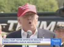 Donald Trump También Propone Deportar A Todos Los Indocumentados Y Negar Ciudadanía A Sus Hijos #Video