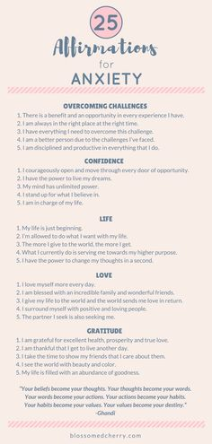 Affirmations for anxiety. Stress and Anxiety. Stress less. Stop stress. Healing Affirmations, Affirmations Positives, Daily Affirmations, Positive Affirmations For Anxiety, Affirmations For Happiness, Morning Affirmations, Anxiety Quotes, Anxiety Tips, Anxiety Help