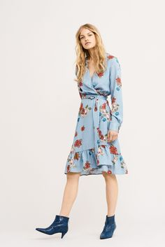 Lovely wrap-around dress from GESTUZ