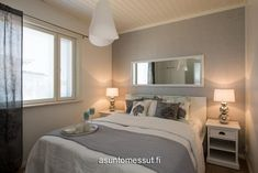 14 Heikius Hus-Talo - Makuuhuone Haku, Master Bedroom, Colours, House, Mirrors, Google, Inspiration, Furniture, Bedroom Ideas