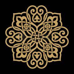 architecture arabic: Diseño tradicional de Marruecos Vectores