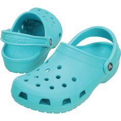 6f96b3ac645ff5 Pool blue crocs size 8 Blue Crocs