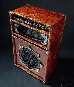 HAEVY MAGIC Custom Guitar Amp Steampunk