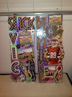 Football locker decorations