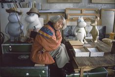Tove Jansson ucieka z Doliny Muminków - Wywiad i artykuły Tove Jansson, When I Grow Up, Women In History, Body Mods, Helsinki, Art Studios, My Childhood, Painting & Drawing, Illustrators