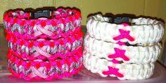 Breast Cancer Awareness bracelets!!!