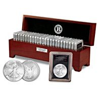 910704 - The Complete American Eagle Silver Dollar Collection