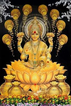 Lakshmi - Goddess of Wealth and prosperity, my icon for Economic Security