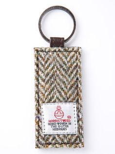 Harris Tweed Key Ring - Kiana - £8.50