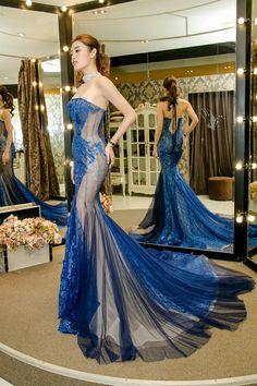 Light blue prom dresses,light blue evening gowns,one shoulder prom dresses,long formal dresses Elegant Dresses, Beautiful Dresses, Asian Fashion, Girl Fashion, Western Dresses For Women, One Shoulder Prom Dress, Blue Evening Gowns, Sexy Gown, Gown Pattern