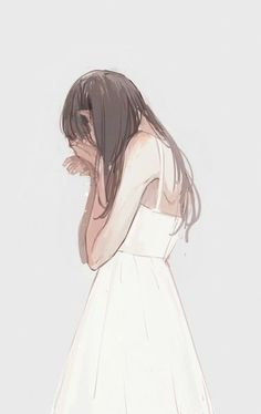 Find images and videos about art, anime and sad on We Heart It - the app to get lost in what you love. Anime Girl Crying, Sad Anime Girl, Anime Art Girl, Anime Girls, Girl Crying Drawing, Cry Drawing, Art Triste, Anime Triste, Chica Anime Manga
