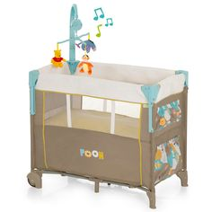 HAUCK Baby-Reisebett Dream'n Care Center Winnie Pooh Spring in the Wood   Babyartikel.de