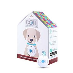 """#DOTT The #Smart #Dog #Tag, #Virtual #Leash, #Location #Tracker, #Lost & Found, #Lightweight, Water-resistant, #Bluetooth, #Wireless, #Replaceable #Battery, App-Enabled #Pet #Collar #Tag for #iOS, No #Subscription """"Best invention"""" by MSN money & """"Best 5 #"""